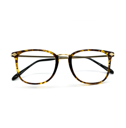 Guldbruna glasögon - stafflade priser